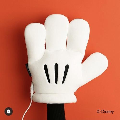 ミッキーの手⁈
