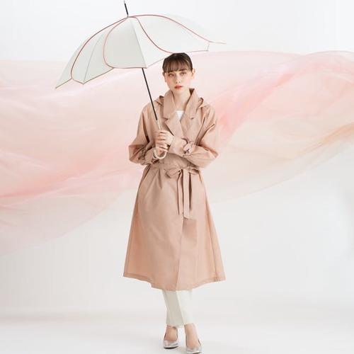 【梅雨の日も可愛く楽しく♪】アネロ レイントレンチコート