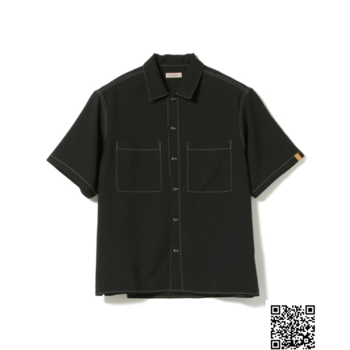 BEAMS LIGHTS / カラーステッチ ドライ ワークシャツ