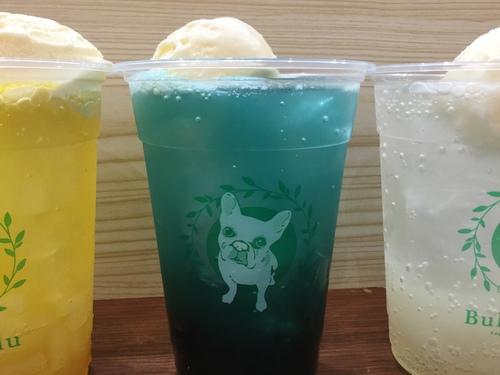 夏季限定でクリームソーダが登場!!