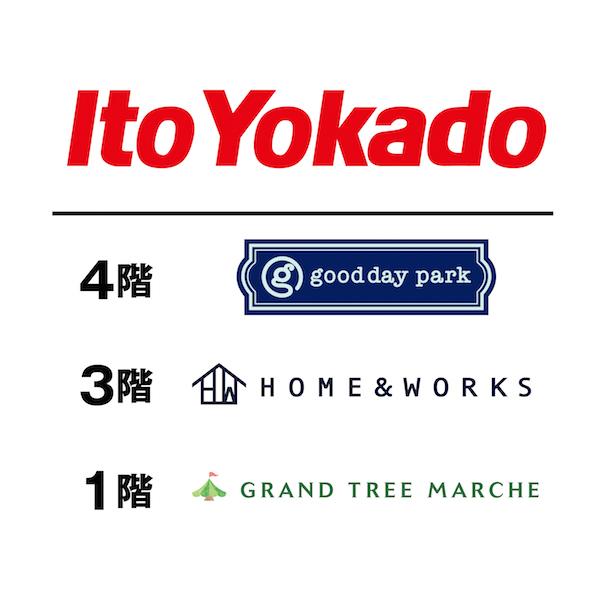 イトーヨーカドーグランツリー武蔵小杉店のロゴ画像