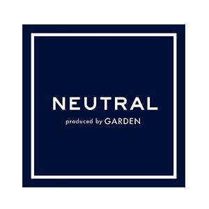 NEUTRAL Produced by GARDENロゴ画像