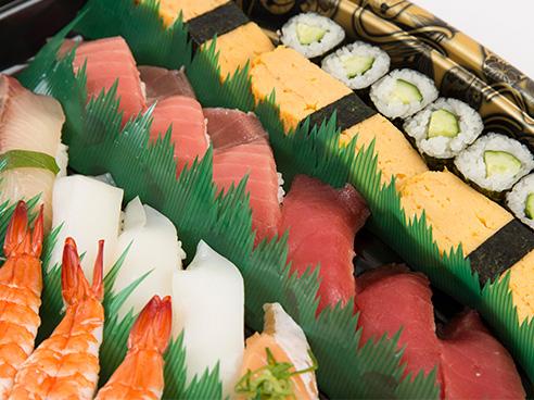 回し寿司 活の画像