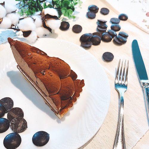 チョコレートタルト画像